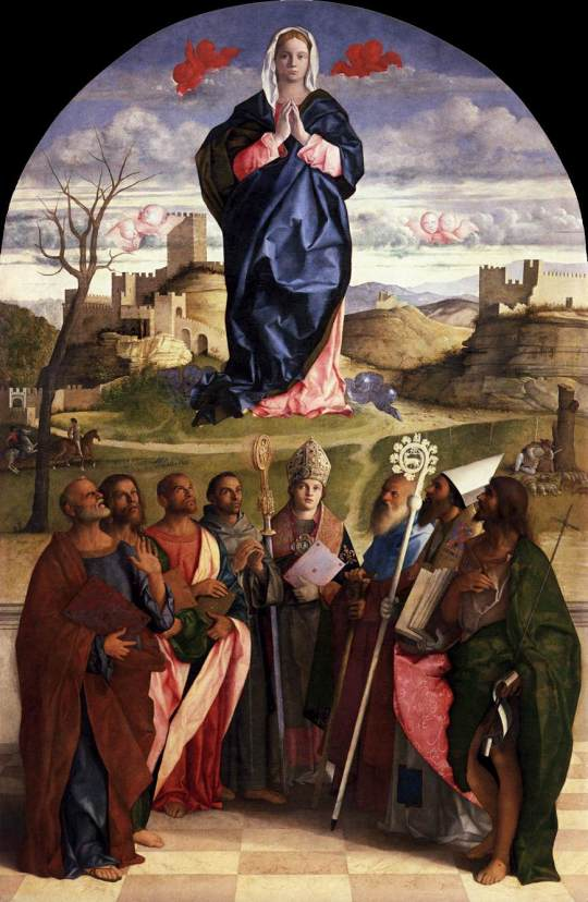 glorious assumption Virgin in Glory GBellini