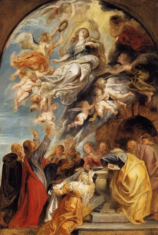 glorious assumption_rubens