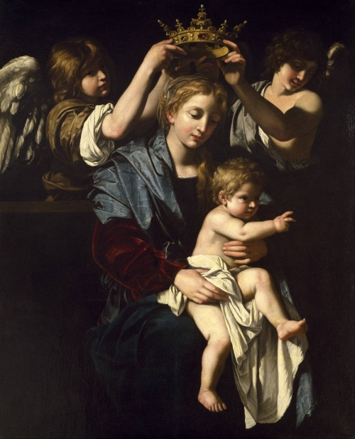glorious Bartolomeo_Cavarozzi_-_Virgin_and_Child_with_Angels_-_Google_Art_Project