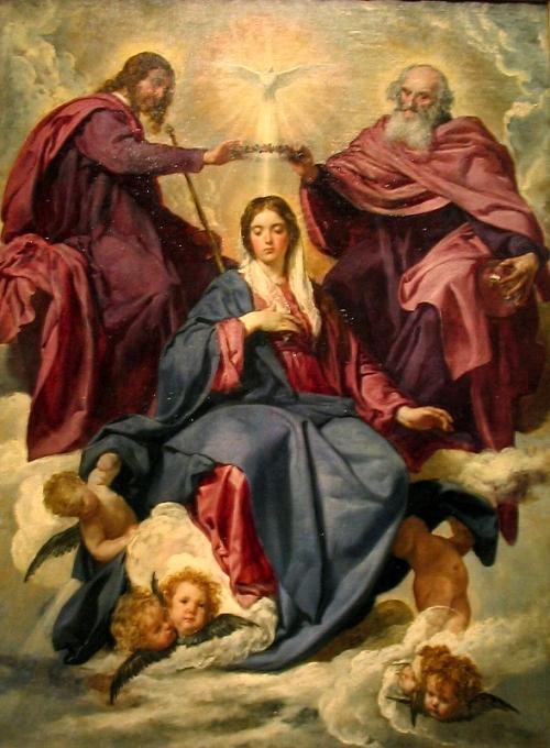 glorious La_coronación_de_la_Virgen_de_Velázquez
