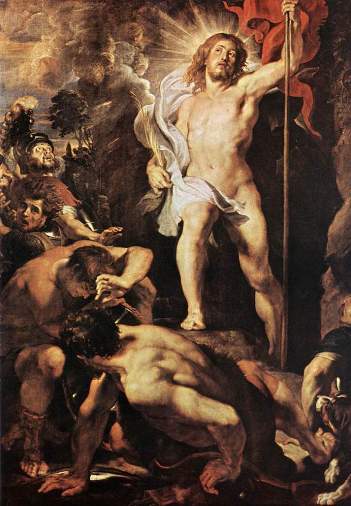 glorious resurrection_rubens