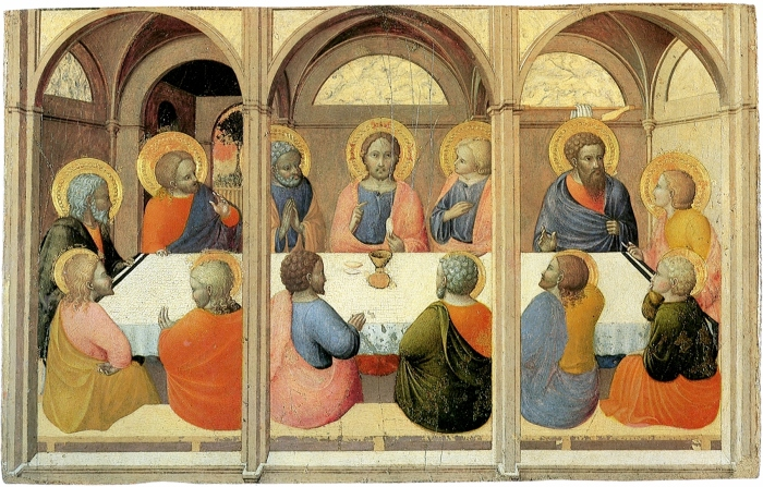 https://upload.wikimedia.org/wikipedia/commons/8/8a/Institution-of-the-eucharist--Sassetta--Siena_Pinacoteca.jpg