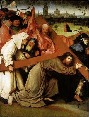 Jesus carga con la cruz, Bosch
