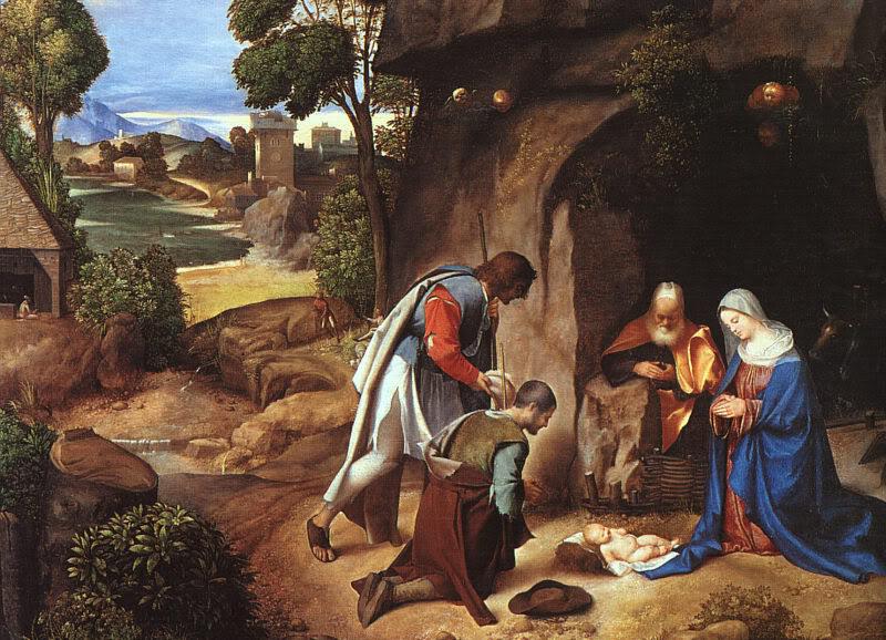 natal adoration_giorgione