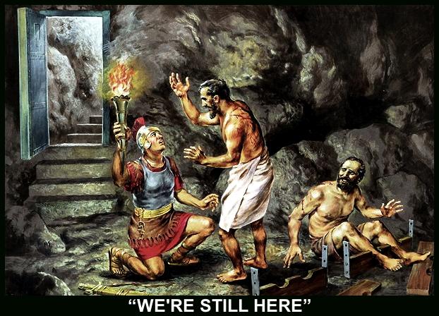 PAUL AND SILAS+JAILER