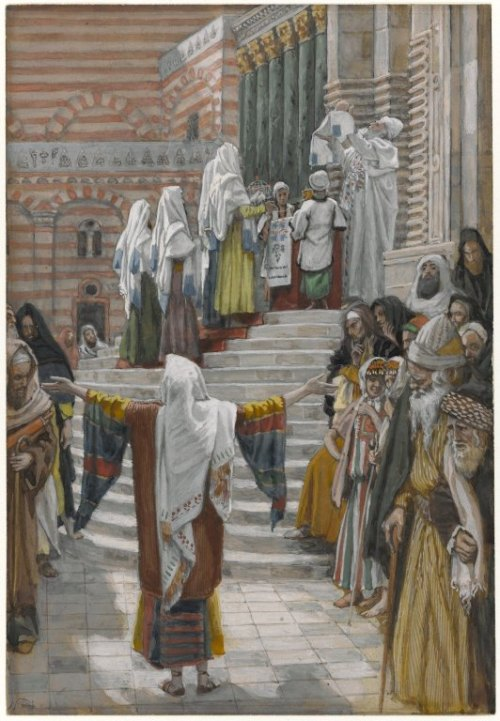 presentation Brooklyn_Museum_-_The_Presentation_of_Jesus_in_the_Temple_James_Tissot_-_overall
