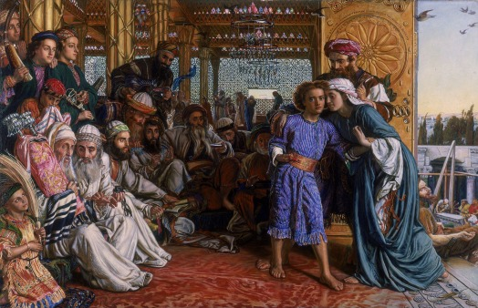 yesus bait allah William_Holman_Hunt_-_The_Finding_of_the_Saviour_in_the_Temple