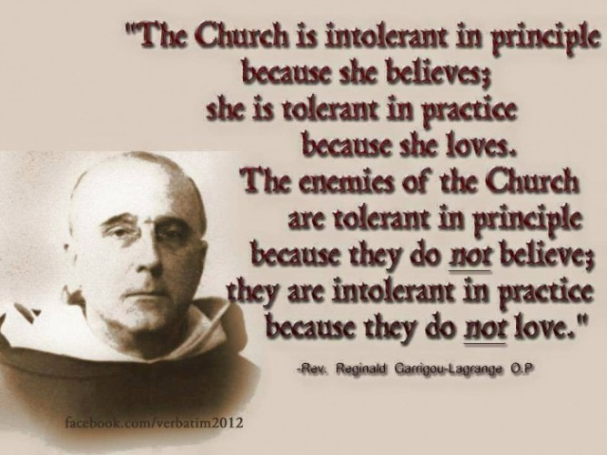 Tolerance and love